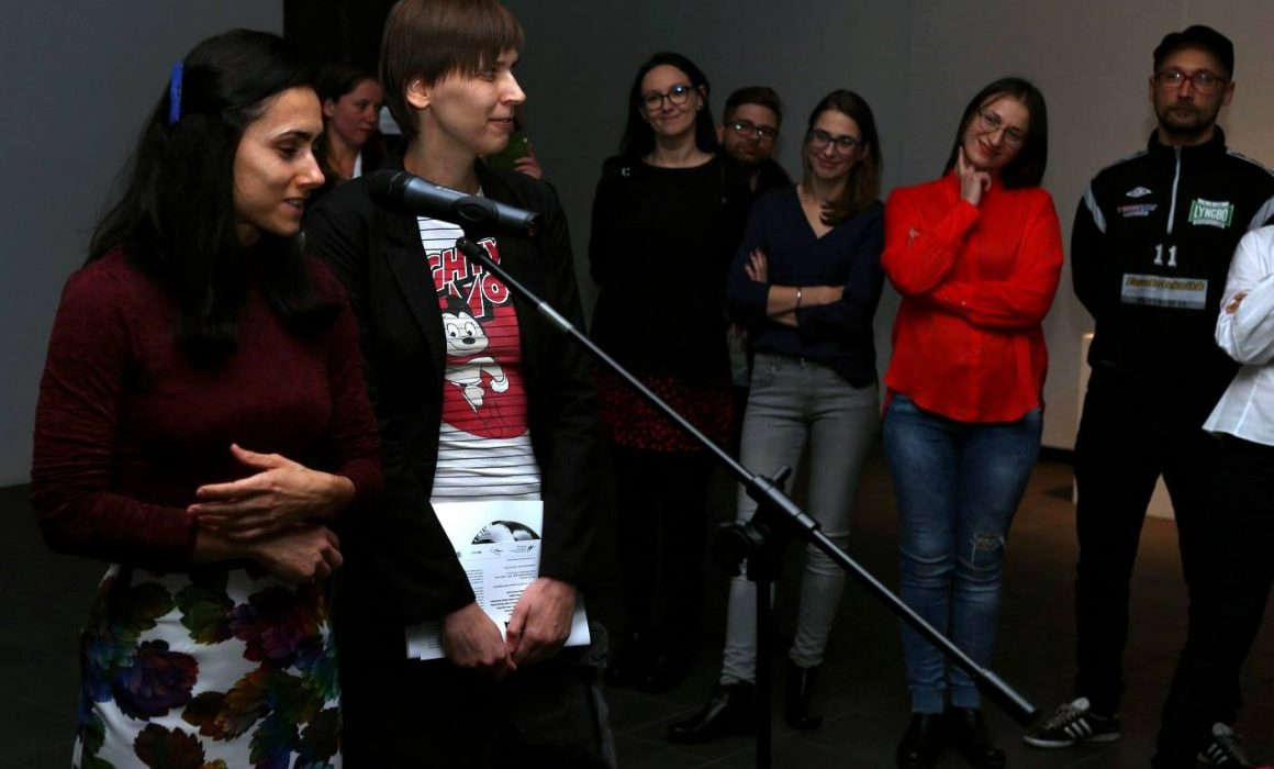 przemowienie kuratorki urszuli kluz knopek na wernisazu w galerii wozownia