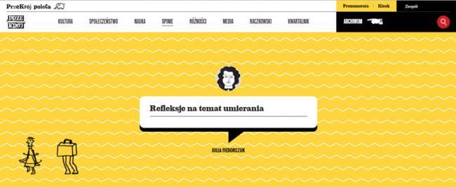 Refleksje na temat umierania. Tekst pisarki Julii Fiedorczuk na temat prac Urszuli Kluz-Knopek